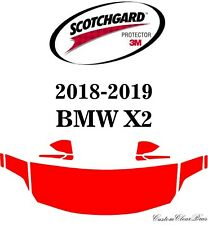 3M Scotchgard Paint Protection Film Clear Pre-Cut 2018 2019 BMW X2 Base
