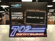 AQUATIC AV AQ-AD300.2 300 WATT 2 CHANNEL CLASS D WATERPROOF AMP HARLEY DAVIDSON