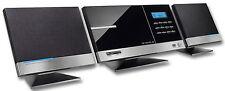Design Vertikal Musik Anlage mit CD, MP3, AUX, Stereo PLL Radio, USB, SD -