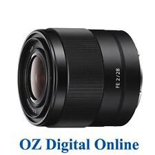New Sony FE 28mm F2 SEL28F20 E-Mount Full Frame Lens 1 Year Au Wty