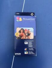 Epson PictureMate Print Pack Ink Cartridge & 100 Glossy Photo Paper.