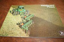John Deere Moldboard Plows Brochure w/ 4430 4630 8430 1974!