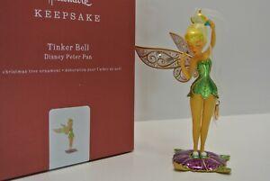 Hallmark Keepsake Premium TINKER BELL Disney Peter Pan Metal Ornament BRAND NEW