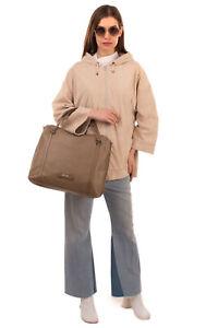 RRP€170 BLUGIRL BLUMARINE Tote Bag Large Embossed Basket Weave Bow Detail Zipped