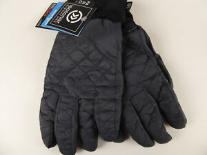 Isotoner Signature Quilted Insulated Gloves w/ SmarTouch Polartec SleekHeat NWT