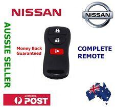 1x NISSAN 3 Button Remote Brand New Xtrail Pathfinder Murano Tiida 350Z