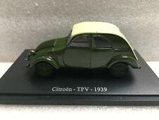 Universal Hobbies Citroën TPV 1939 sans boîte 1/43 Voiture Miniature Collection