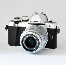 Olympus OM-D E-M10 Mark II Kit 14-42mm R silber 1a Zustand OVP