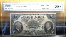 New ListingVery Nice 1935 Canada Bank of Montreal $5 Note