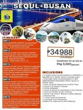 5D4N SEOUL & BUSAN ESCAPADE FULL BOARD PACKAGE WITH AIRFARE & VISA