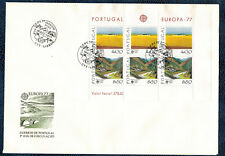 Portugal-fdc klb bloque 20 Europa cept 1977 a 5 a sobres joyas ungelaufen