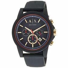 Armani Exchange Men's Ax1335 Grey Silicone Quartz Sport Watch