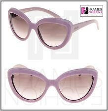 a78841c1cd5e PRADA Ornate Pr08rs Opal Pink Cat Eye Sunglasses Gradient 08r Women