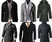 Wool Double Breasted Coats & Jackets for Men
