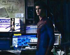 Andrew Garfield signed Amazing Spiderman 8X10 photo - Silence