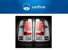 Recon for 2013-2016 CLEAR LED Tail Lights For Dodge RAM - 264236CL