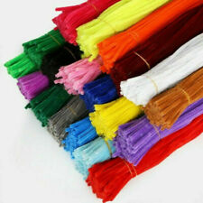 Toy Pipe Cleaners Chenille Plush Kids DIY 5MM Educational Stems 100PCS Children