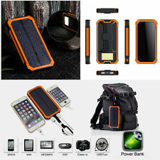 New 100000mAh Portable Solar USB Charger Power Bank For Mobile phone