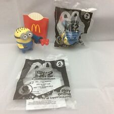 Despicable Me 2 McDonalds 2013 Happy Meal Toy #2 Phil Jelly Whistle
