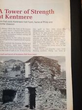 52605 ephemera 1991 Article Cumbria Kentmere Hall Farm Dawson