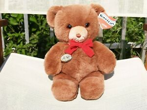 "VINTAGE GUND- BROWN KARITAS TENDER TEDDY BEAR- 13""-#2124-1983-VERY NICE-ALL TAGS"