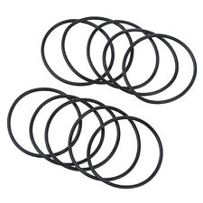 10 Pcs 40mm x 44mm x 2mm Nitrile Rubber Sealing O Ring Gasket Washer CT Q5W3