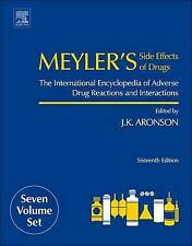 Meyler's Side Effects Of Drugs  9780444537171