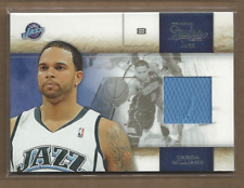2009-10 Studio Materials #27 Deron Williams 232/249 Jersey