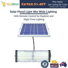 Solar Flood Light 40w Security Light Yard Light Barn Light w/ Remote Control