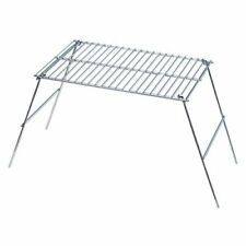 Rome's 128 Pioneer Camp Grill, Chrome Plated Steel, 11-Inch x 16-Inch Campfire