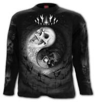 Spiral Direct YIN YANG SKULLS - Long sleeve T-Shirt Cross/Skulls