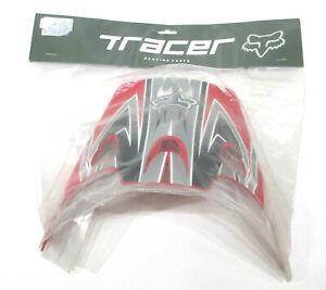 Fox Tracer Helmet Visor Red M Youth 91315-262-000 New
