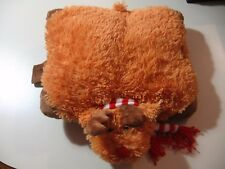"12"" x 9"" plush Reindeer by Pillow Pets Pee Wees, good condition"