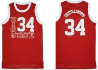 Big State 34# Jesus Shuttlesworth Basketball Jerseys He Got Game Stitched Allen