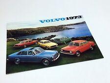 1973 Volvo 142 144 145 164E 1800ES Full Line Brochure