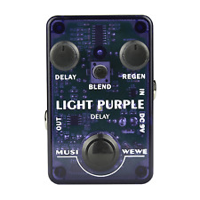 Musiwewe Violet Clair Delay Guitar Effect Pedal