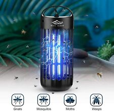 Portable Small Bug Zapper Lantern Fly, Gnat, Mosquito, & Flying Bug Killer Lamp