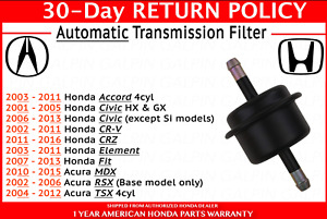 ECCPP Automatic Transmission Filter Kit Fit for 2001-2003 for ...