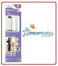 ❤ F872S DREAM BABY Dreambaby Child Baby Pet Safety 14cm Extension F870S Gate ❤