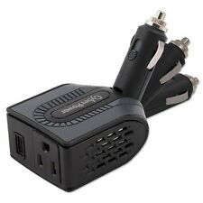 Car Power Inverter 12V DC to 120V AC Converter Auto USB Charger 100W Swivel Head