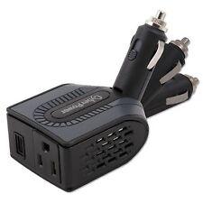 Car Power Inverter 12V DC to 120V AC Converter Auto USB Charger 100W Swivel Head