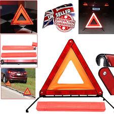 REFLECTIVE WARNING SIGN TRIANGLE FOLDABLE CAR HAZARD BREAKDOWN UK - EU EMERGENCY