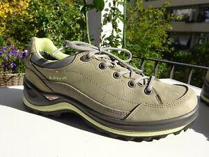 LOWA Renegade III GTX Gore-TEX Schuhe Trekking Leder ECCO Sohle Gr.39,5(6 f.Neuw