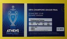 2007 UEFA CHAMPIONS LEAGUE FINALE AC MILAN LIVERPOOL ospitalità TICKET