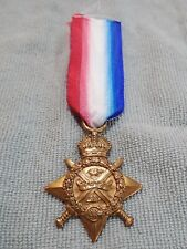 "WW1 Medal - 1914 Star - Original ""Mons Star"" 5th August 1914 to 22nd Nov 1914"