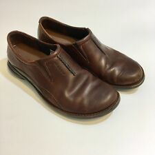 Merrell Tetra Fling Saddle Performance 7.5 Loafers Shoes Brown Clogs Mules Women