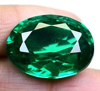 AAA Colombian 48.15 Ct Natural Green Emerald Oval Loose Gemstone Certified F4233
