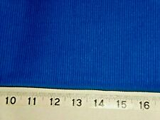1-3/4 Yds Blue Corded Fabric Cotton Poly (3 Pieces)