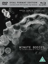 MINUTE BODIES The Intimate World of F.Percy Smith BLURAY + DVD in Inglese NEW.cp