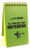 All Weather Notebook Spiral outdoor weatherproof writing pad field notes